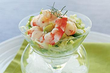 Салат в бокале с креветкой — pic 10