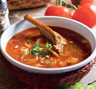 рецепт суп харчо из курицы рецепт с фото